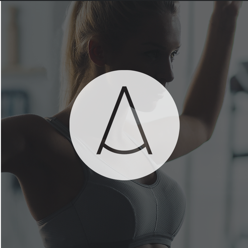 Minimalistic Logo concept for Athletics Specialist Center