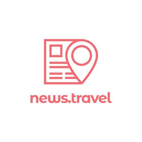 Logo Concept for a Travel News Website