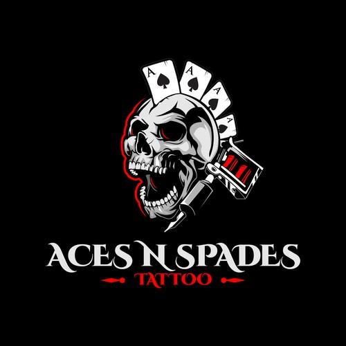 Aces N Spades Tattoo