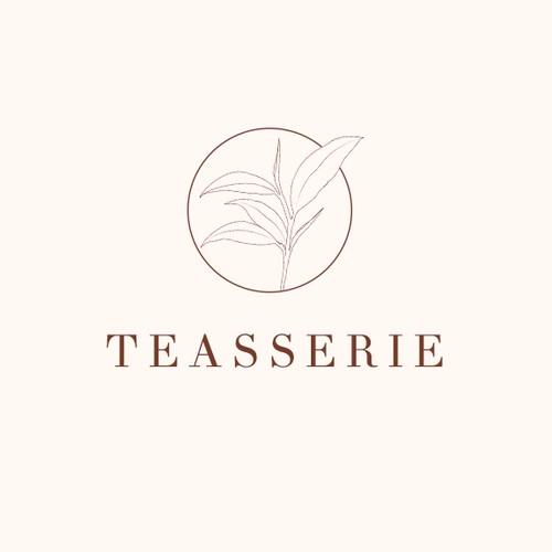 Tea trading company brand identity concepts