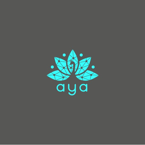 Logo for Aya Ai and mobile application