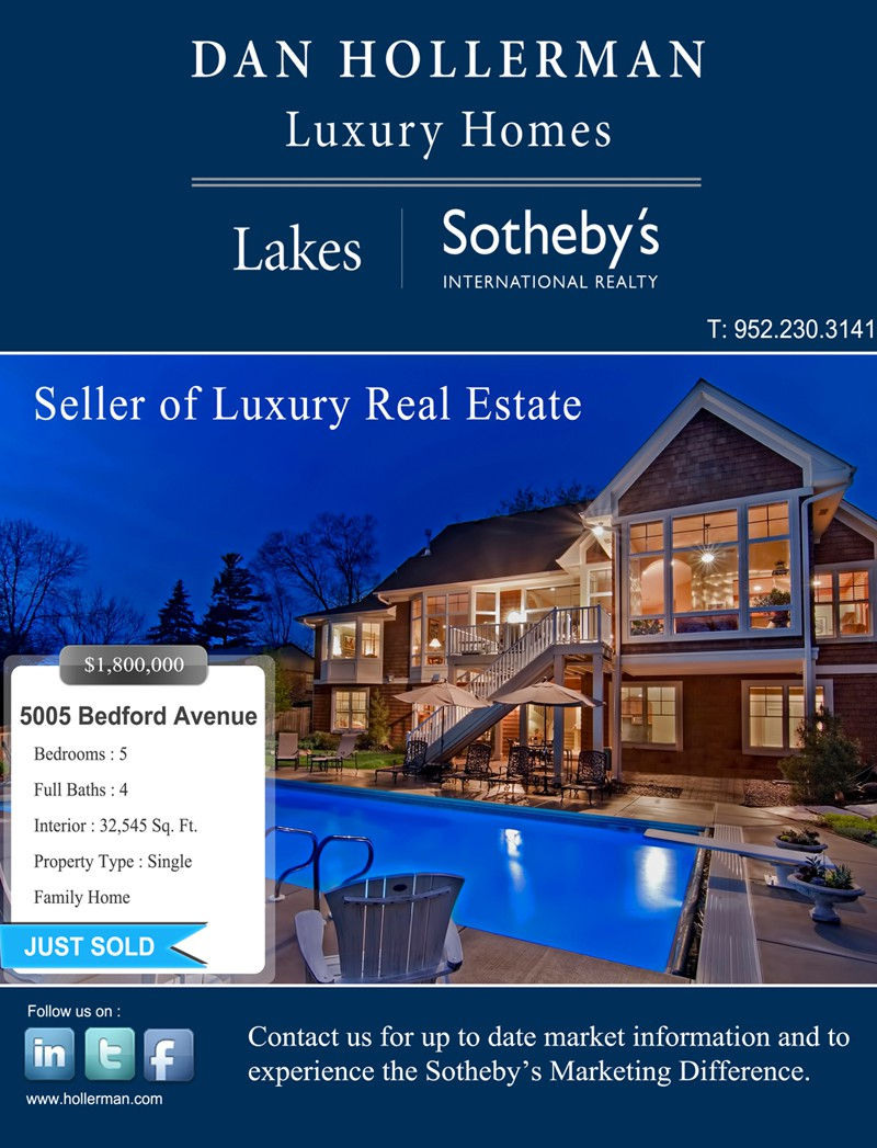 stationery for Dan Hollerman Luxury Homes | Lakes Sotheby's International Realty