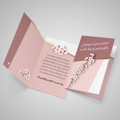Sympathy Greeting Cards.