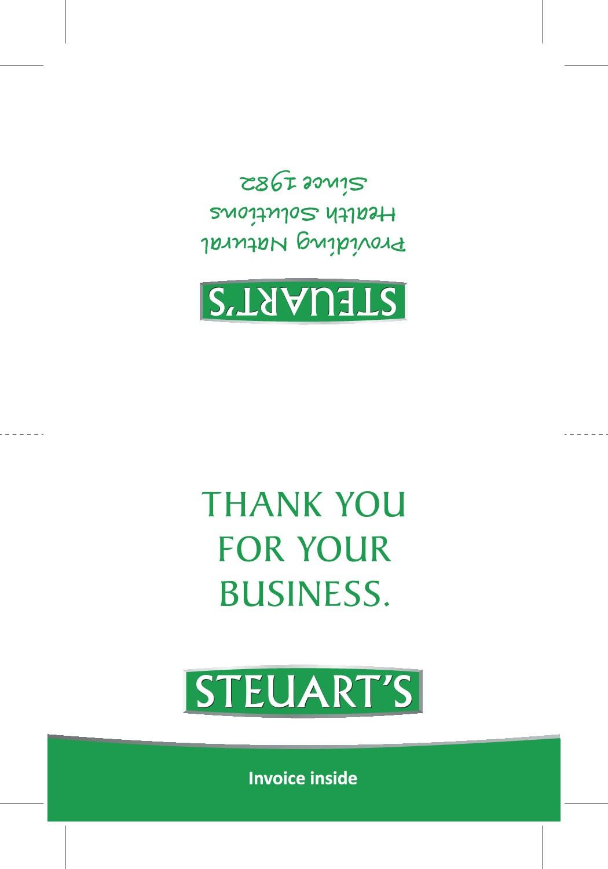 Invoice Card Design