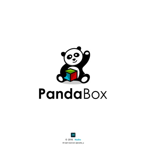 Logo concept for Panda Box