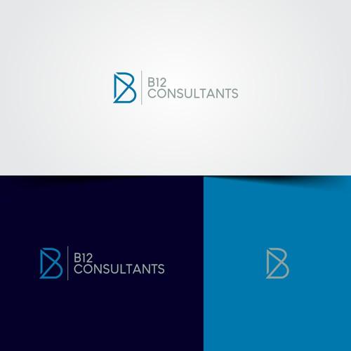 Conceito minimalista e moderno para B12 CONSULTANTS