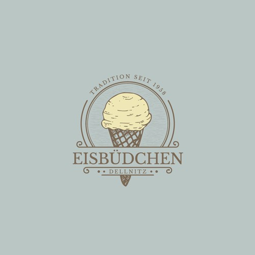 Logo ice cream Foodtrailer