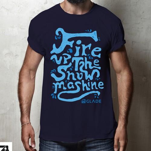 Shirt design proposition for Glade