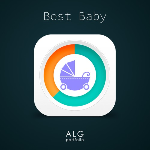 Icon design for Best Baby app