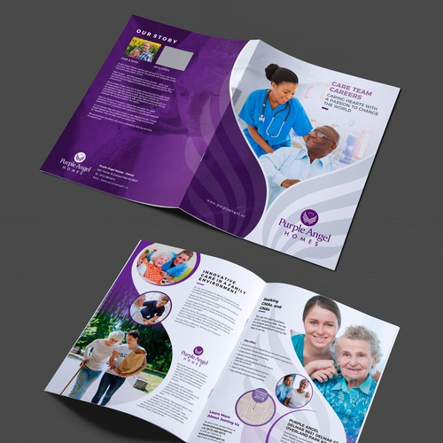 Purple Angel Homes Nurse Pamphlet
