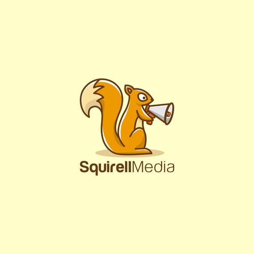 Squirell Media logo