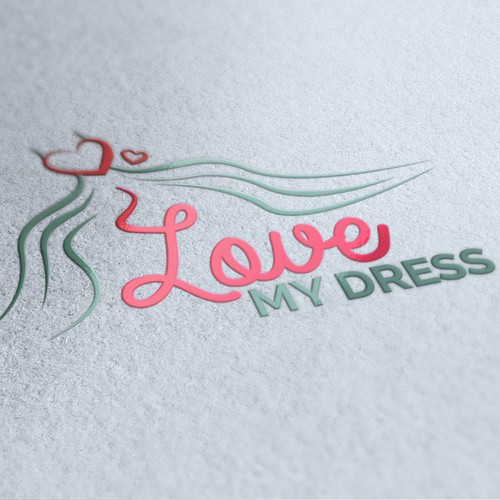 Logodesign Love my dress