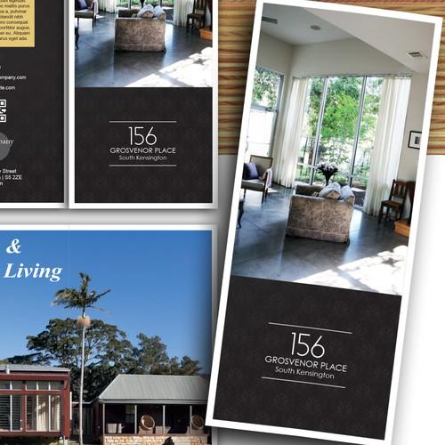 Tri-Fold Luxury Real Estate Brochure - Guaranteed!!