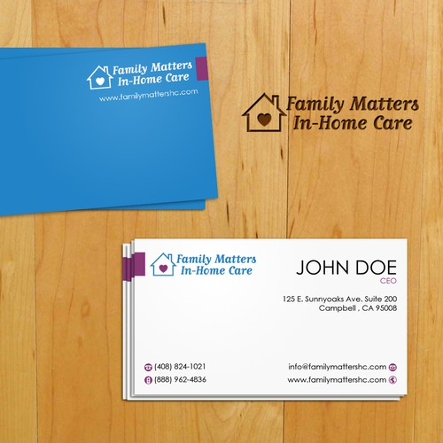 Professional memorable business card!