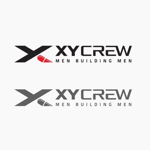 Bold logo designed for XY Crew.