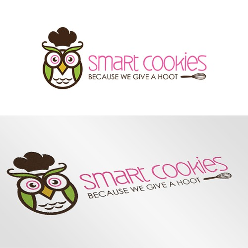 Smart Cookies logo design