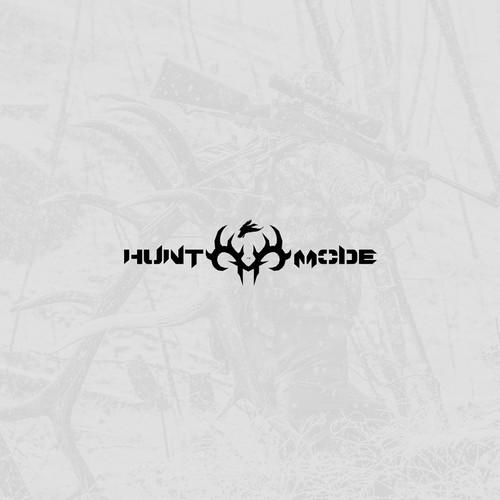 Bold logo for hunting blog