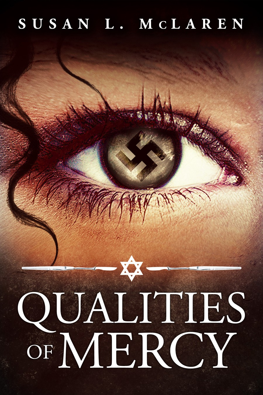 Design a striking ebook cover for historical fiction thriller set in Nazi Berlin, 1938.