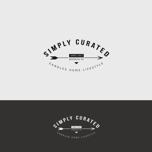 Logo for a Brooklyn based retail brand