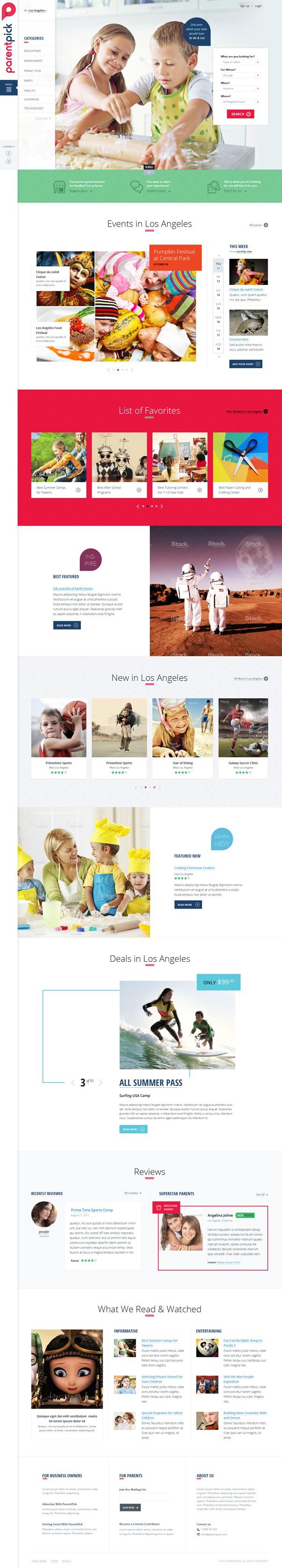 New Website Design for company.