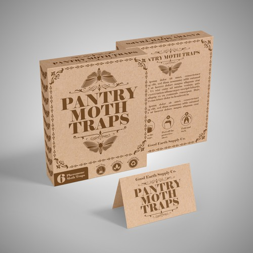 Packaging design for Good Earth Supply Co.