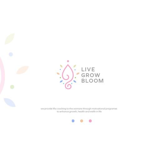 wellness logo design concept