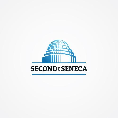 Logo design for the Second & Seneca Building