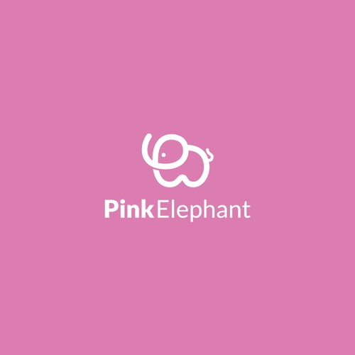 logo concept for Ink Elephant