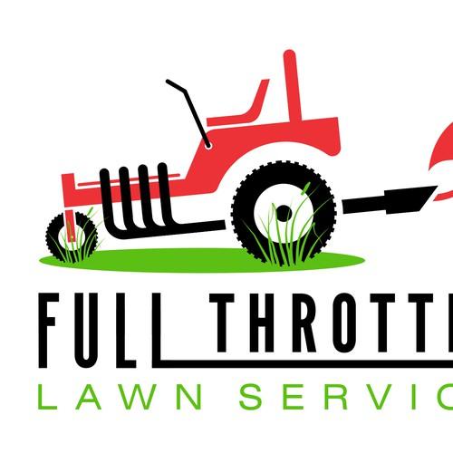 A lawn care service