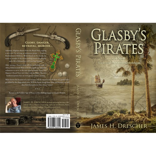 Book cover for the sequel of Glasbys Fortune – Book 2 in the Glasby Chronicles