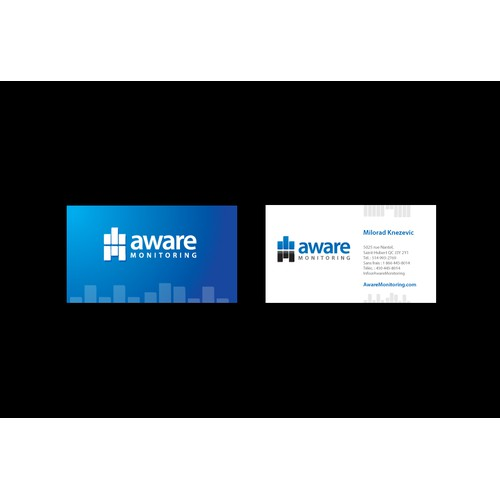 Aware logo design