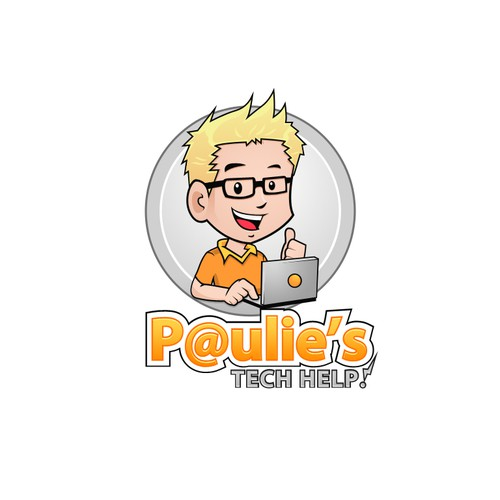 logo for Paulie's Tech Help!