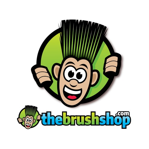 The Brush Shop.com logo