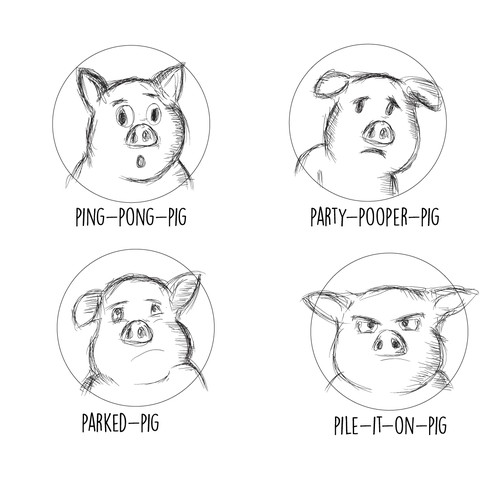 Pigs with Personality