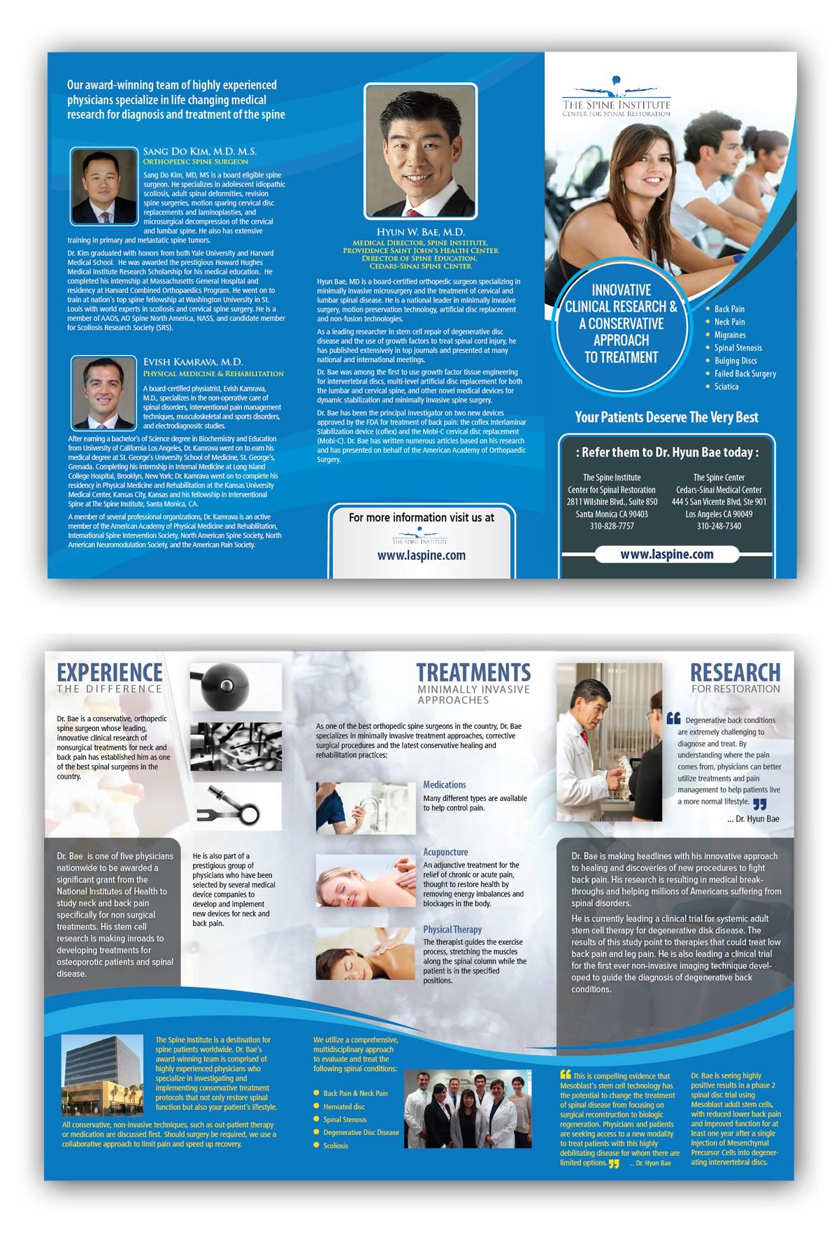 medical marketing flyer