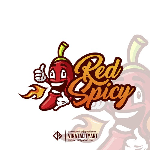 Logo Red Spicy