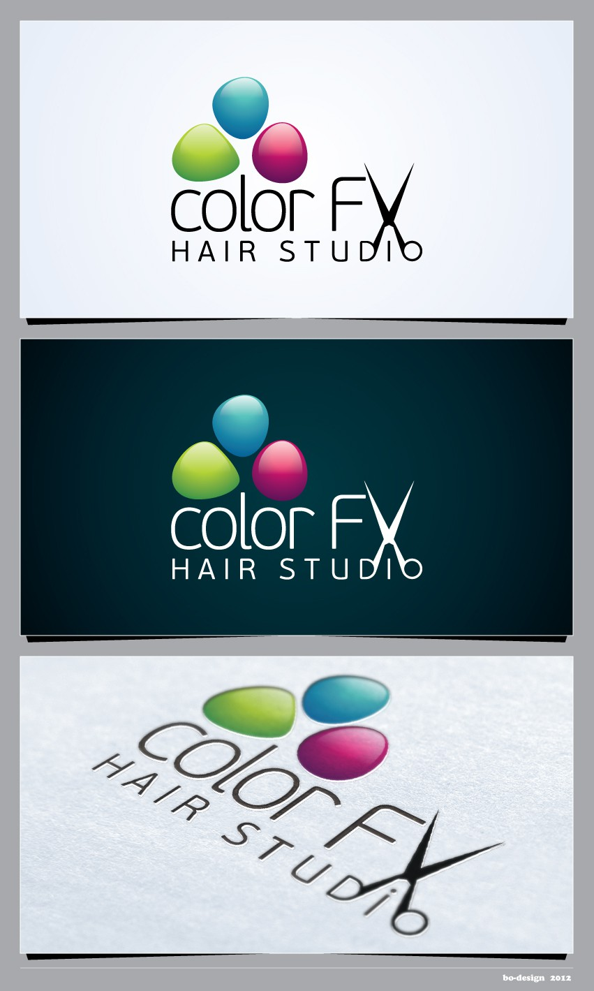 Create the next logo for Color FX