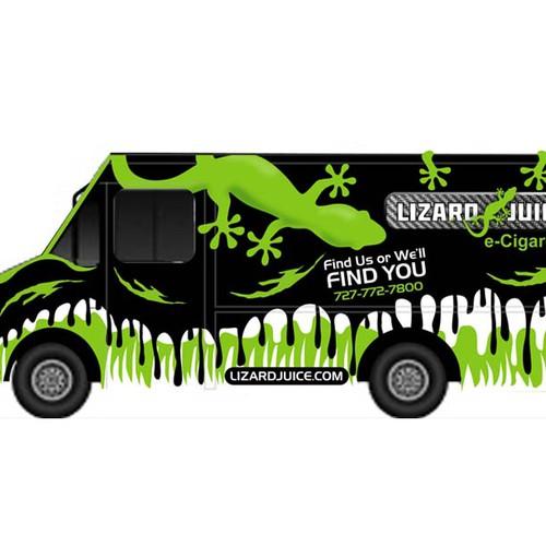 Create the next design for Lizard Juice