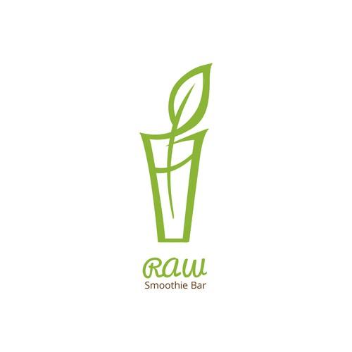 Logo design for smoothie bar studio