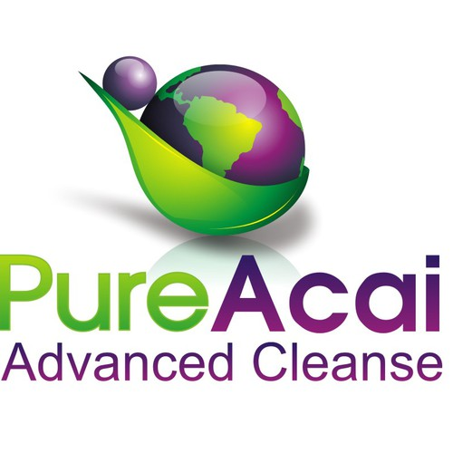 "Logo for new weight loss product ""Pure Acai Advanced Cleanse"""