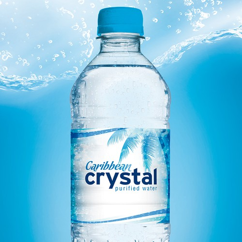 Caribbean Crystal | Purified Water | Logo Design