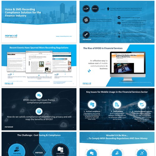 Norwood Pitch Deck Redesign