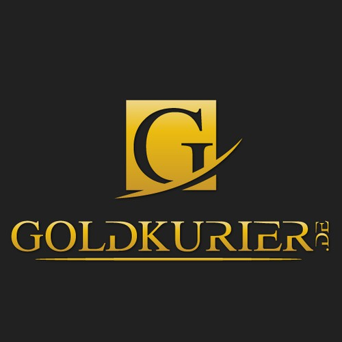 Logo needed for  Goldkurier.de  a gold trading company