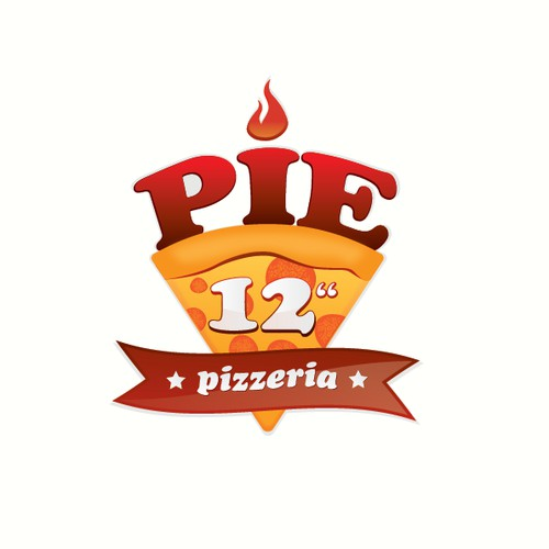 Pizzeria logo design