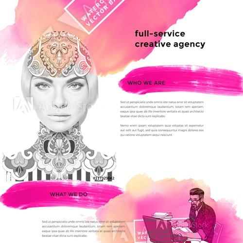 a full-service, virtual creative agency
