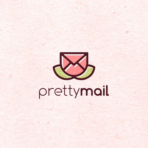 Creative logo for Pretty Mail