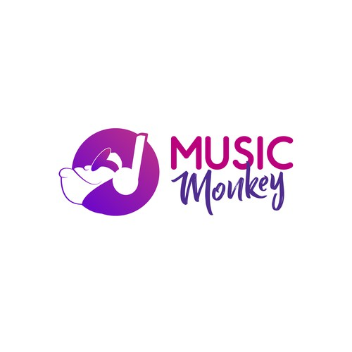 Logo Music Monkey