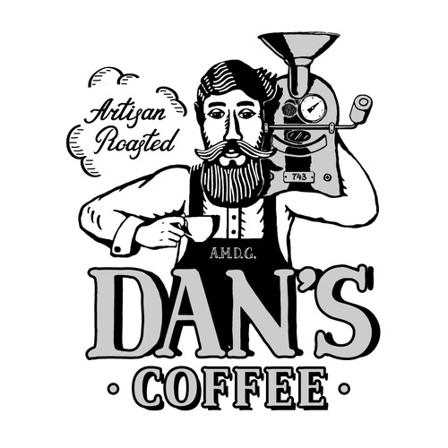 Character and lettering for a artisan coffee roastery