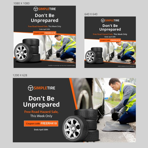 Free Road Hazard Sale for SimpleTire.com