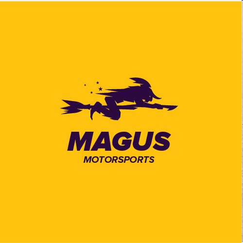 a logo for Premium retailer of racing cars based at a racetrack in california